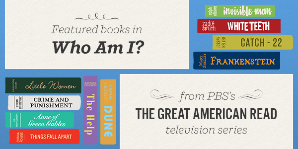 Featured books in Who Am I? from PBS's The Great American Read TV Series