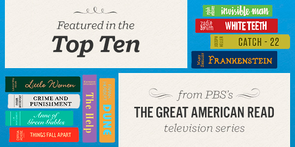Featured in the Top Ten from PBS's The Great American Read television series