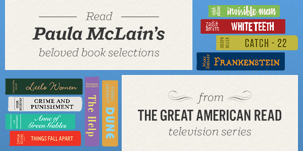 Read Paula McLain's Beloved Book Selections from The Great American Read Television Series