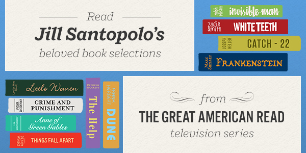 Read Jill Santopolo's Beloved Book Selections from The Great American Read Television Series
